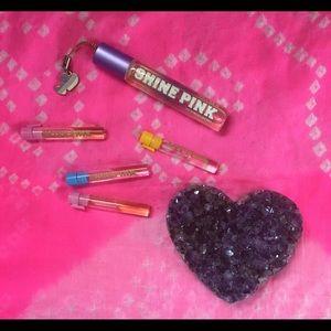 Vintage PINK perfumes